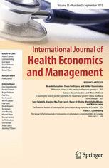 International Journal of Health Economics and Management