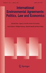 International Environmental Agreements: Politics, Law and Economics