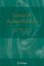 Journal of Academic Ethics