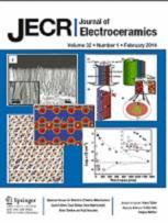 Journal of Electroceramics