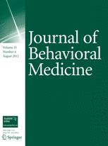 Journal of Behavioral Medicine