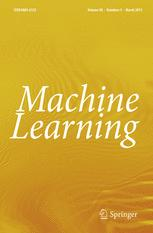 journal machine learning