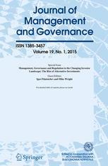 Journal of Management & Governance