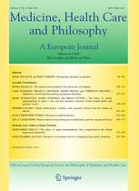 Medicine, Health Care and Philosophy