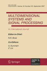 Multidimensional Systems and Signal Processing