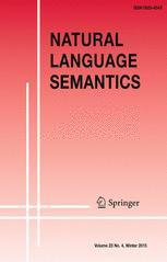 Natural Language Semantics