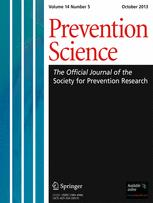 Prevention Science