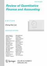 Review of Quantitative Finance and Accounting