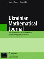 Ukrainian Mathematical Journal