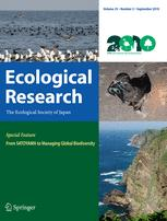 Ecological Research