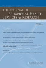 The Journal of Behavioral Health Services & Research