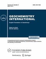 Geochemistry International