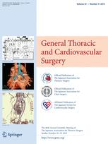 The Japanese Journal of Thoracic and Cardiovascular Surgery