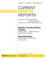 Current Hepatitis Reports