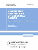 Kinematics and Physics of Celestial Bodies