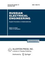 Russian Electrical Engineering