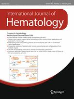 International Journal of Hematology