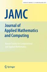 Korean Journal of Computational and Applied Mathematics