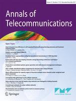 Annals of Telecommunications