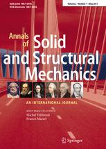 Annals of Solid and Structural Mechanics