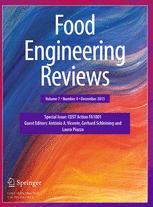 Food Engineering Reviews
