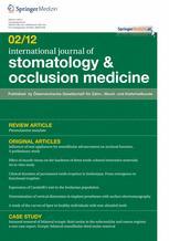 international journal of stomatology & occlusion medicine