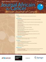 Journal Africain du Cancer / African Journal of Cancer