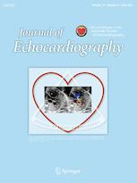 Journal of Echocardiography cover image