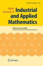 Japan Journal of Industrial and Applied Mathematics