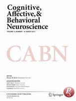 Cognitive, Affective, & Behavioral Neuroscience