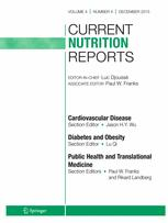 Current Nutrition Reports