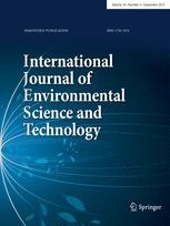 International Journal of Environmental Science & Technology