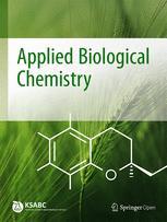Journal of the Korean Society for Applied Biological Chemistry