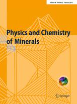Physics and Chemistry of Minerals