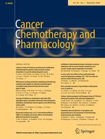 Cancer Chemotherapy and Pharmacology