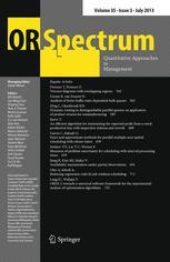 Operations-Research-Spektrum