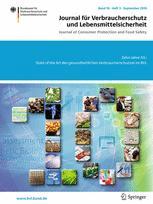 Journal für Verbraucherschutz und Lebensmittelsicherheit