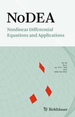 Nonlinear Differential Equations and Applications NoDEA