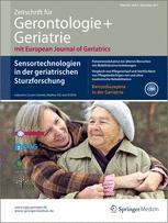Zeitschrift für Gerontologie und Geriatrie