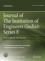 Journal of The Institution of Engineers (India): Series E