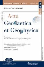 Acta Geodaetica et Geophysica