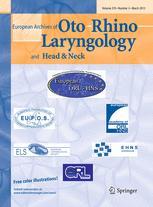 European Archives of Oto-Rhino-Laryngology