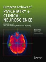 European archives of psychiatry and neurological sciences