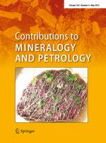 Contributions to Mineralogy and Petrology