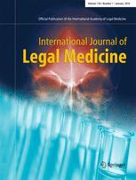 International Journal of Legal Medicine