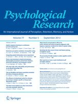 Psychologische Forschung