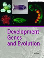 Roux's archives of developmental biology