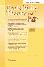 Probability Theory and Related Fields