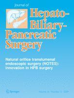 Journal of Hepato-Biliary-Pancreatic Surgery