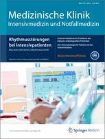 Medizinische Klinik - Intensivmedizin und Notfallmedizin
